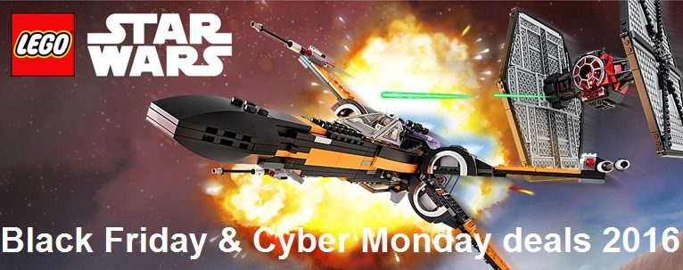 Lego star wars black friday & cyber monday deals