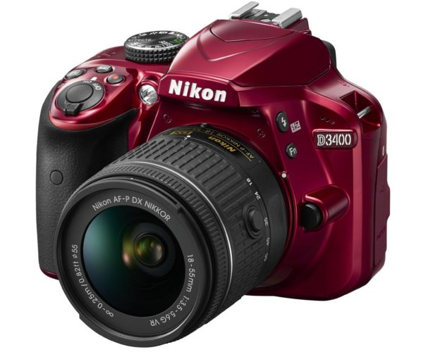 nikond3400red