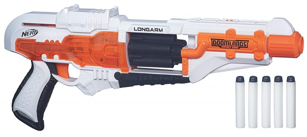 Nerf Doomlands Impact Zone Longarm black friday and cyber monday deals