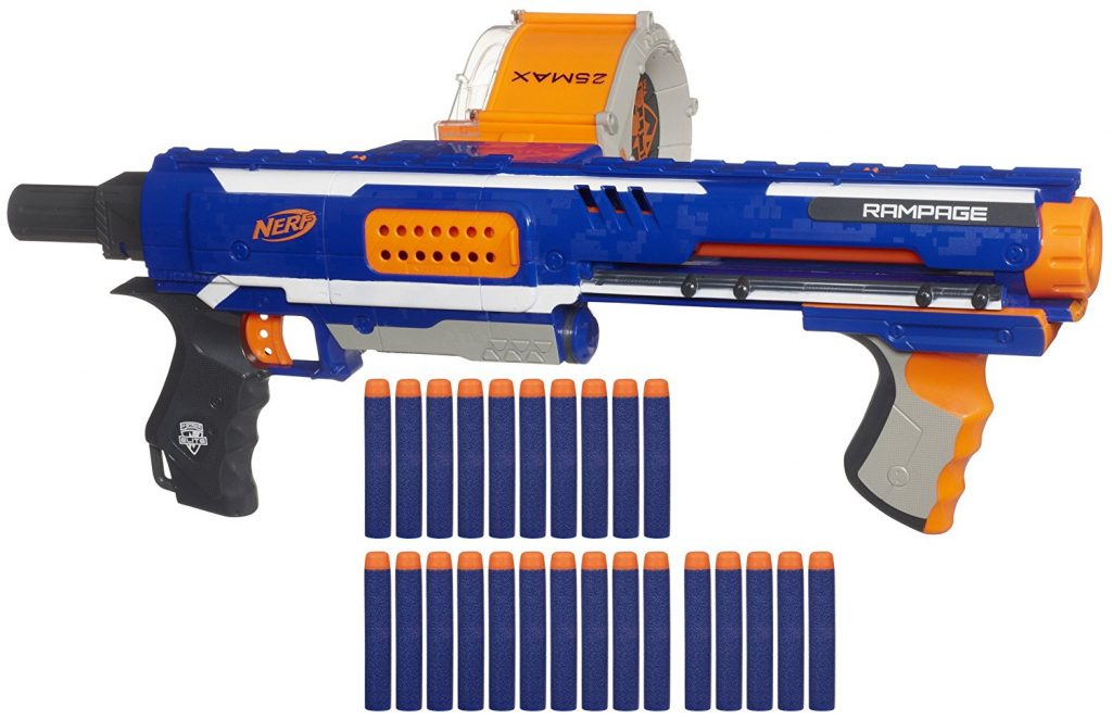 Nerf N-Strike Elite Rampage Blaster black friday and cyber monday deals
