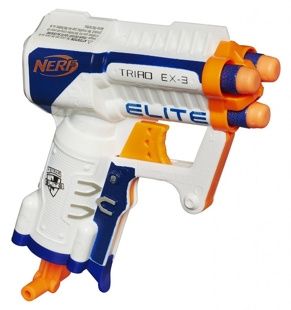 Nerf N-Strike Elite Triad EX-3 Blaster black friday cyber monday deals