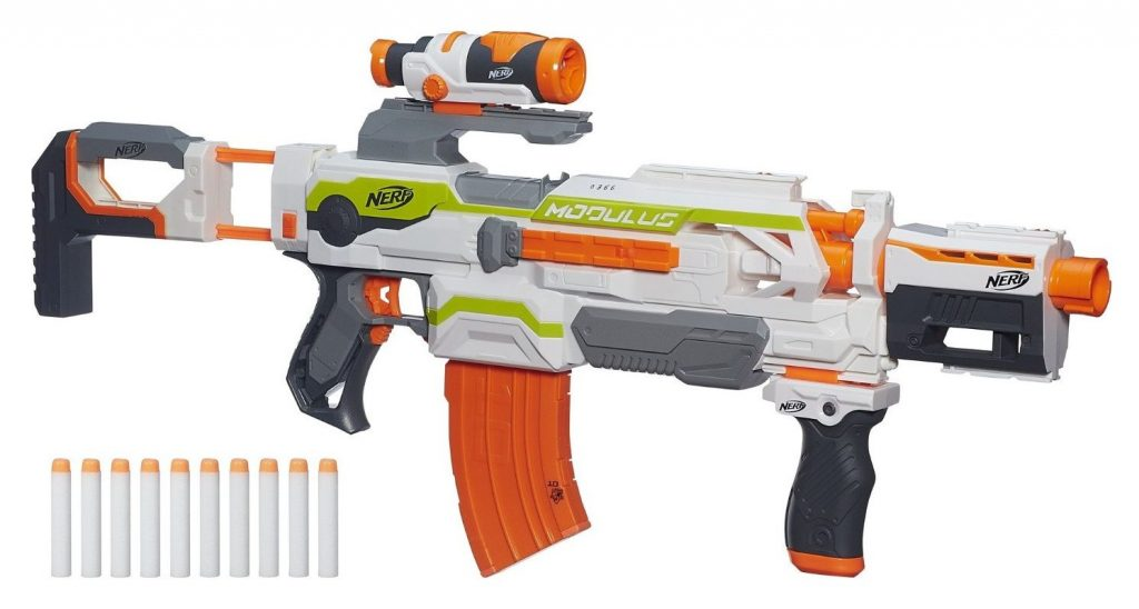 Nerf N-Strike Modulus ECS-10 Blaster black friday and cyber monday deals