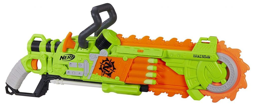 Nerf Zombie Strike Brainsaw Blaster black friday and cyber monday