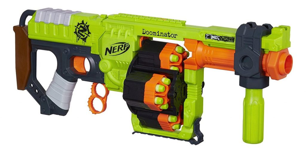 Nerf Zombie Strike Doominator Blaster black friday and cyber monday deals