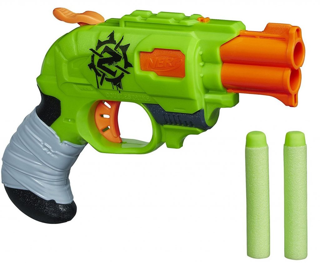 Nerf Zombie Strike Doublestrike Blaster black friday and cyber monday deals