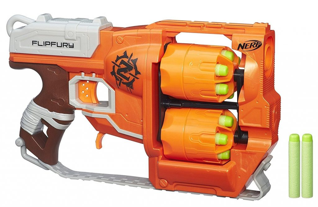 Nerf Zombie Strike FlipFury Blaster black friday cyber monday deals