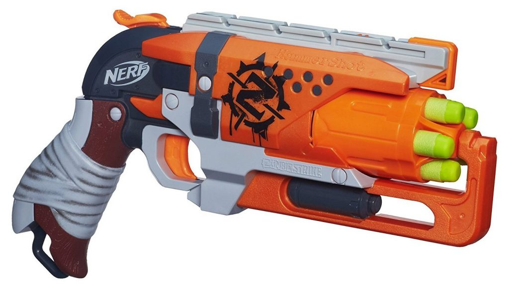 Nerf Zombie Strike Hammershot Blaster black friday and cyber monday deals