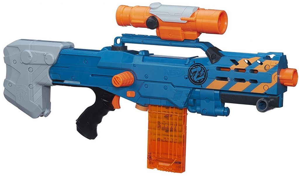 Nerf Zombie Strike ZED Squad Longshot CS-12 Blaster black friday and cyber monday deals