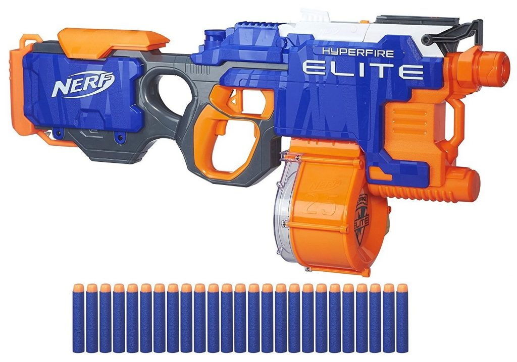 Nerf N-Strike Elite HyperFire Blaster black friday and cyber monday deals
