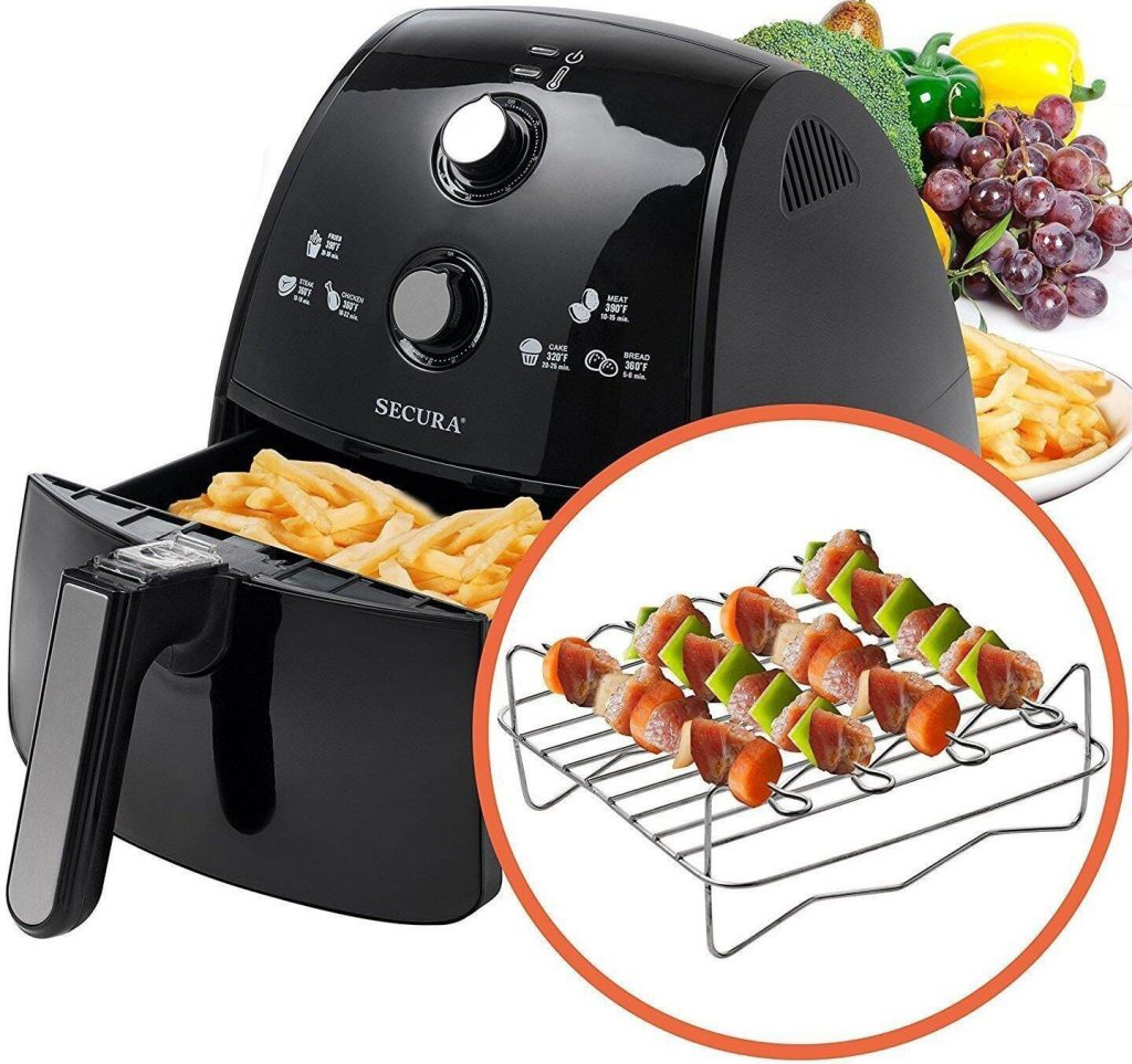 Secura hot air fryer deals during Black Friday sales period