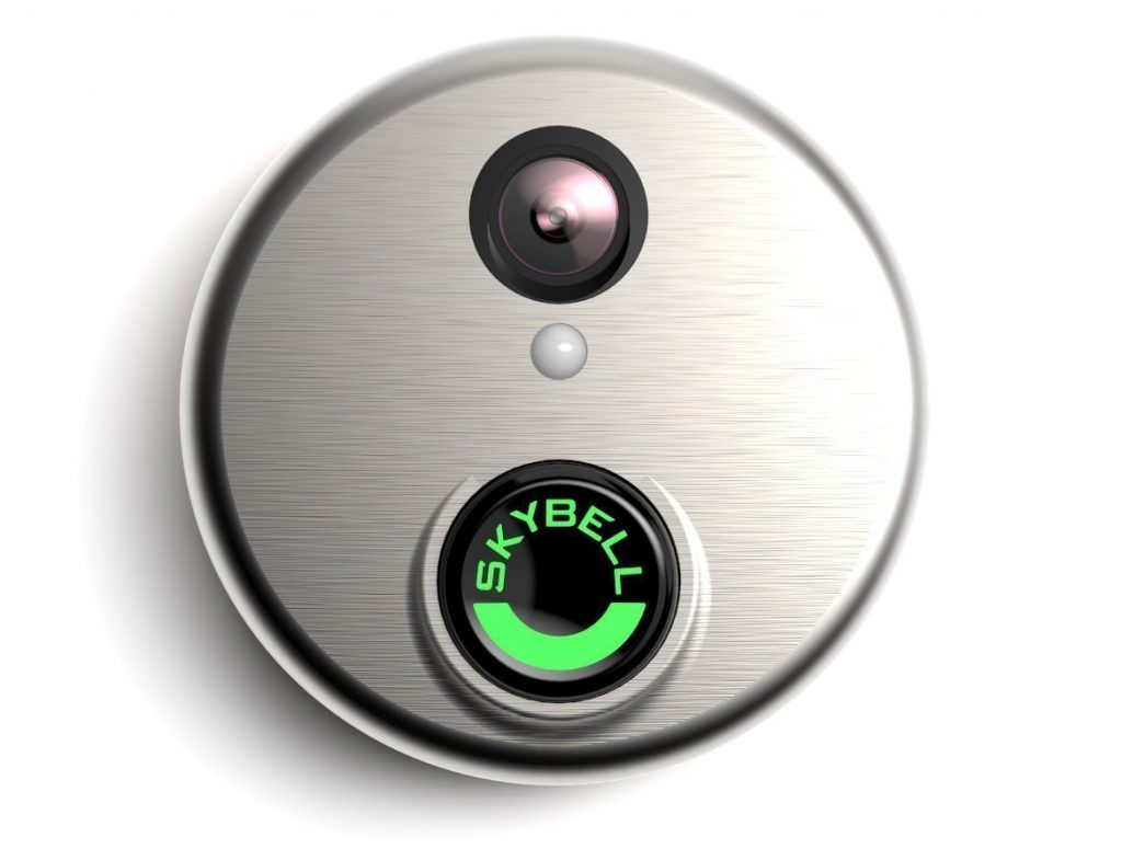 SkyBell HD Silver WiFi Video Doorbell Black Friday