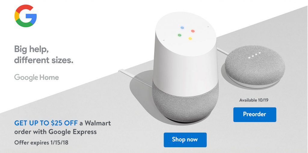 walmart google mini deal black friday
