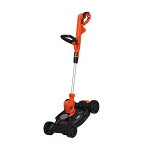 BLACK+DECKER electric lawn mower black friday