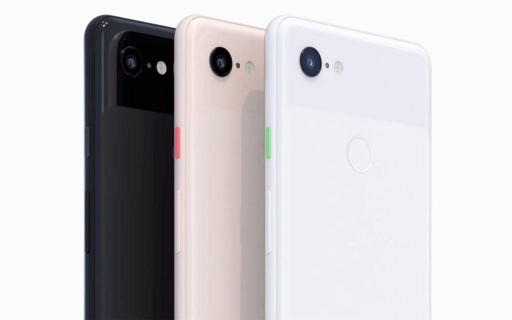 Google Pixel 3 colors