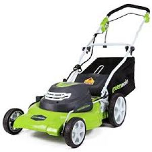 Greenworks Corded Lawn Mower Black Friday deals
