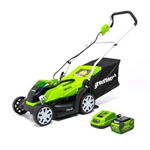 Greenworks 40V Force Cordless Lawn Mower Batteries Included
