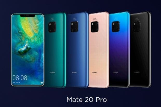 HUAWEI Mate 20 colors
