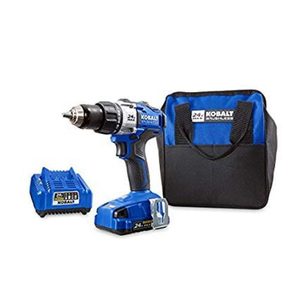 Kobalt 24-Volt Brushless Drill
