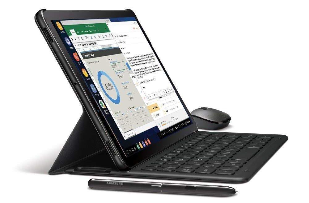 The Samsung DEX on Galaxy Tab S4