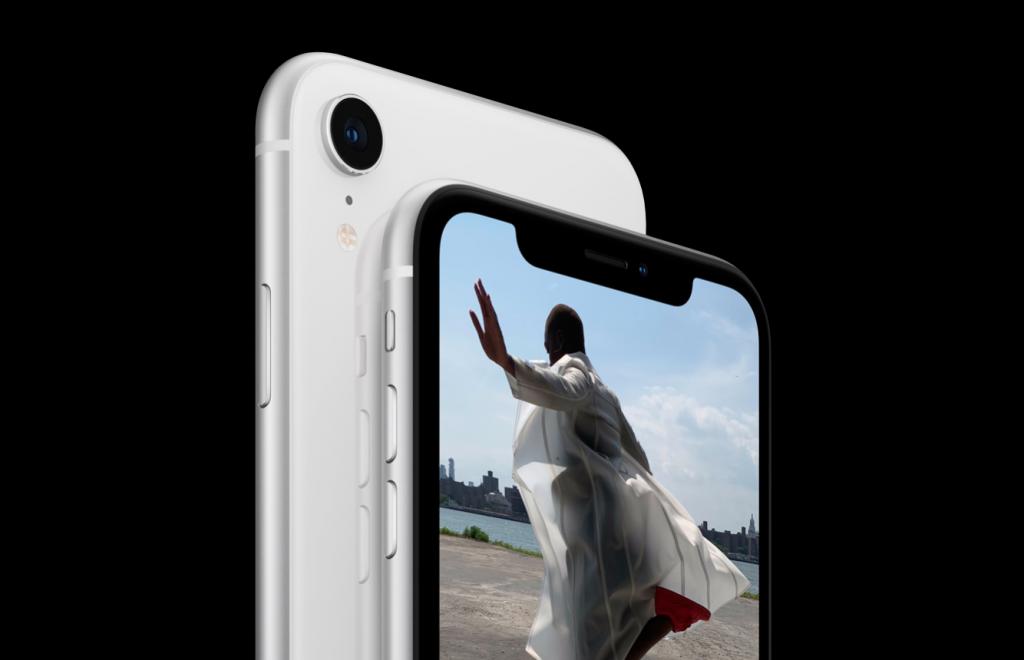 iPhone XR camera