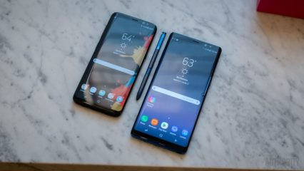 Galaxy S8 or Note 8 black friday cyber monday